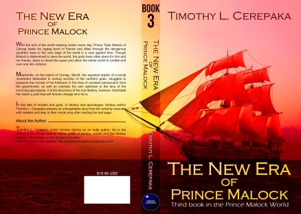The New Era of Prince Malock trade paperback cover